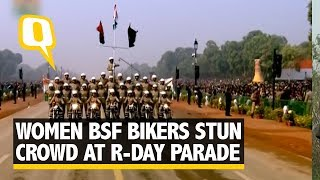 All Women Motorcycle Squad at the 69th R-Day Parade | The Quint