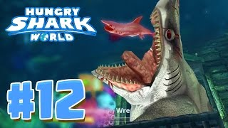 getlinkyoutube.com-6 EPIC SECRET HIDDEN AREAS ! - Hungry Shark World Part 12 (HSW) - EVIL MEGALODON!