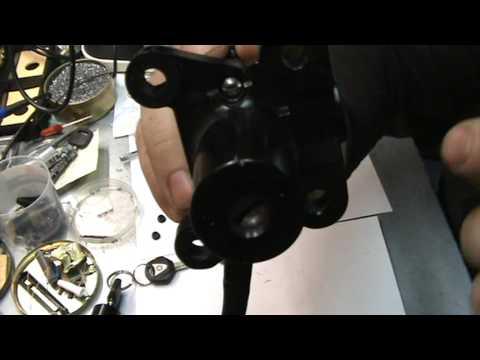 Правка секретов , на примере замка от  мотоцикла Yamaha FJR1300