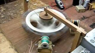 Bedini Leedskalnin - Driving Small DC Motor w/Output