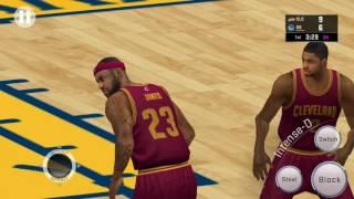 getlinkyoutube.com-NBA2K16 android CAVS vs GSW