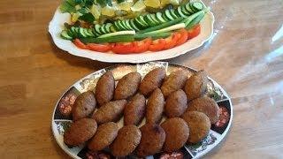 getlinkyoutube.com-مطبخ الاكلات العراقيه -كبة برغل مقليه
