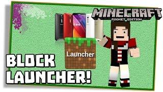 getlinkyoutube.com-Minecraft PE 0.13.1: BLOCK LAUNCHER PARA PROCESSADOR INTEL, SUPORTE MODS! - (Pocket Edition / MCPE)
