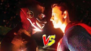 getlinkyoutube.com-Flash Family VS Superman Family ! Superheroes Fight To Death ! (GTA 5 Ultimate Flash Mod)