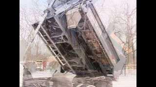 getlinkyoutube.com-2003 Ford F550 Snowplow and Salt Spreader Dump with Sild Tilt Bed