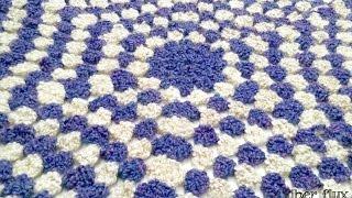 getlinkyoutube.com-Episode 111: How To Crochet The Violet Clouds Throw
