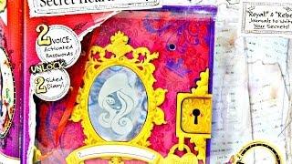 getlinkyoutube.com-Secret Hearts Password Journal / Sekretny Pamiętnik (eng) - Ever After High - BCF51 - Recenzja