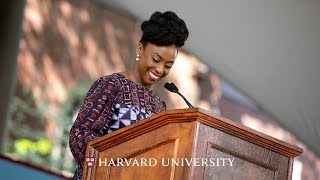 Author Chimamanda Ngozi Adichie addresses Harvard's Class of 2018