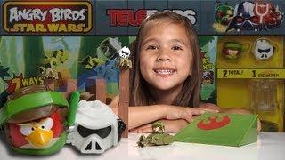 getlinkyoutube.com-ENDOR CHASE - Angry Birds Star Wars II TELEPODS WEEK - Day 4