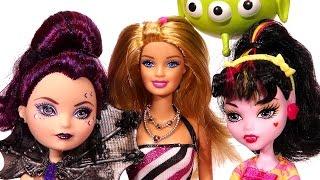 getlinkyoutube.com-Barbie, Draculaura ve Raven Queen'i Tanıştırıyor!