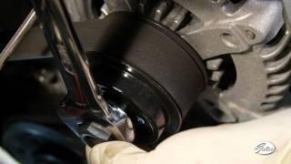 getlinkyoutube.com-GATES: Alternator Decoupler Pulley - How to Inspect and Replace (full version)