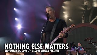 Metallica: Nothing Else Matters (Live - Global Citizen - New York, NY - 2016) width=