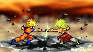 Goku vs Broly Part 1 (Reupload)
