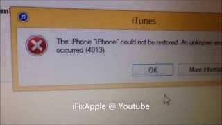 getlinkyoutube.com-Fix iphone 5 5s 5c  4013 error on itunes