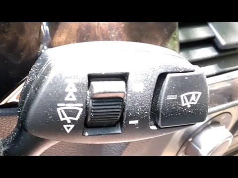 Где в БМВ E60 предохранитель заднего стеклоочистителя