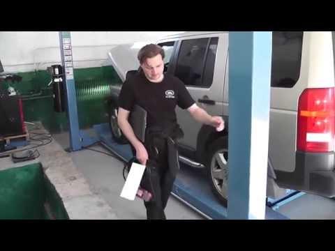 Где в Land Rover Дискавэри находится рулевая тяга
