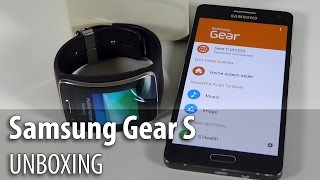 getlinkyoutube.com-Samsung Gear S Unboxing/ Pairing Tutorial - GSMDome.com