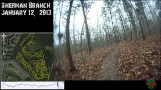 getlinkyoutube.com-Sherman Branch with Elevation and GPS Overlay