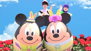 getlinkyoutube.com-ディズニーランド エッグハント イースター おでかけしたよ Disney easter 2015