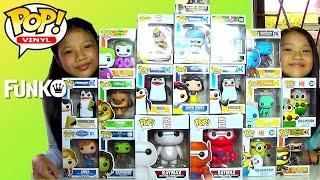 getlinkyoutube.com-Disney Frozen Big Hero 6 Minions Batman Funko Pop Funko Bobblehead
