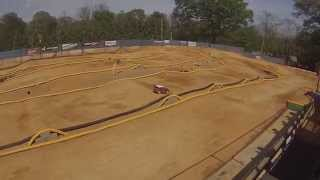 1/5 Scale Mini WRC on 1/8 Scale Track @ G's in Shippensburg, PA