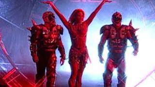 getlinkyoutube.com-Hall of Fame: Sunny leads The Road Warriors to the ring at