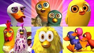 getlinkyoutube.com-The Farm's Songs: Birds Mix - Songs for Kids, Children's Music