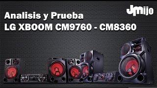 getlinkyoutube.com-Análisis y Prueba LG XBOOM CM9760, CM8460 y CM8360