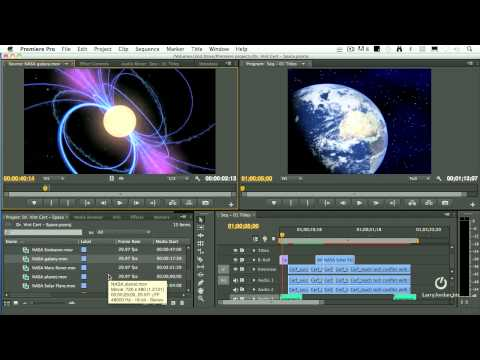 Creating Titles and Effects in Adobe Premiere Pro CS6 (webinar preview)