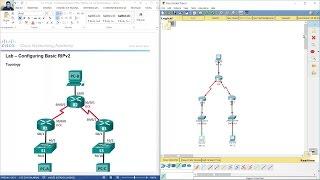 getlinkyoutube.com-3.2.1.9 Lab - Configuring Basic RIPv2
