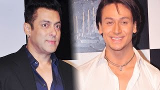 getlinkyoutube.com-Tiger Shroff's Funky Gift To Salman Khan On His 49th Birthday