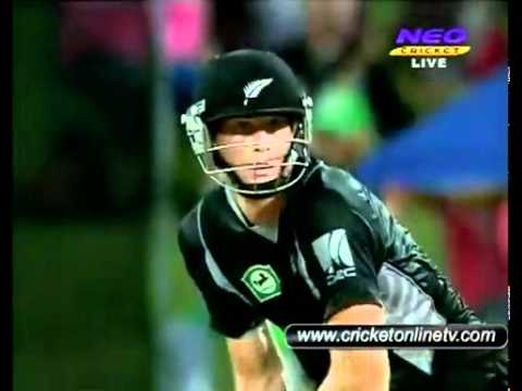 Pakistan vs New Zealand 5th ODI Highlights Hamilton 2011 part 6 HD