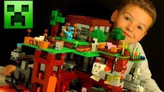 getlinkyoutube.com-Кока Все Серии - Лего Майнкрафт 2016 + Мультики - Видео Обзор на русском. Lego Minecraft