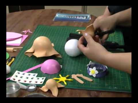 Mulher.com 15/12/2011 - Boneca em EVA 1/2
