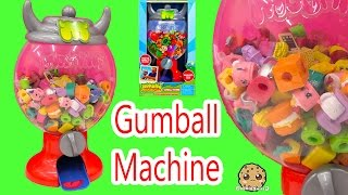 getlinkyoutube.com-Moshi Monsters GUMBALL MACHINE Playset with Exclusive,  Holds Shopkins Toys too Cookieswirlc Video