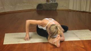 getlinkyoutube.com-Seated Hip Opener Yoga Sequence
