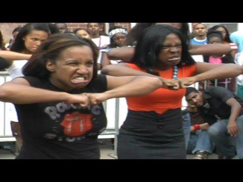 Spelman Freshman Step Team Alum Battle