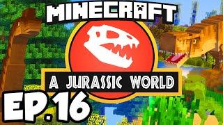 getlinkyoutube.com-Jurassic World: Minecraft Modded Survival Ep.16 - DINOSAUR HEIST!!! (Rexxit Modpack)