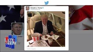 getlinkyoutube.com-Donald Trump Eats KFC With a Fork and Knife