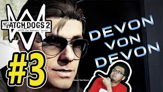 getlinkyoutube.com-Watch Dogs 2 (3) - GAGAL JADI BOURNE! xD