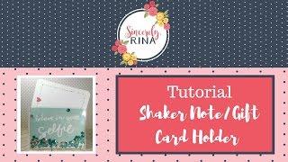 getlinkyoutube.com-Shaker Note Card/Gift Card Holder Tutorial