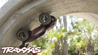 getlinkyoutube.com-Full Pipe Frenzy | Traxxas E-Revo Brushless