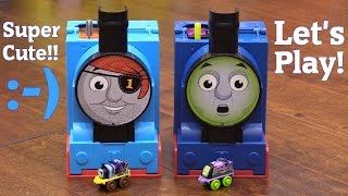 Thomas the Tank Engine & Friends Minis Pop-Up Playsets. Spooktacular and Ahoy, Mateys!