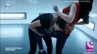 getlinkyoutube.com-مشهد اكشن  اينور تقاتل  الروسية  ليسا