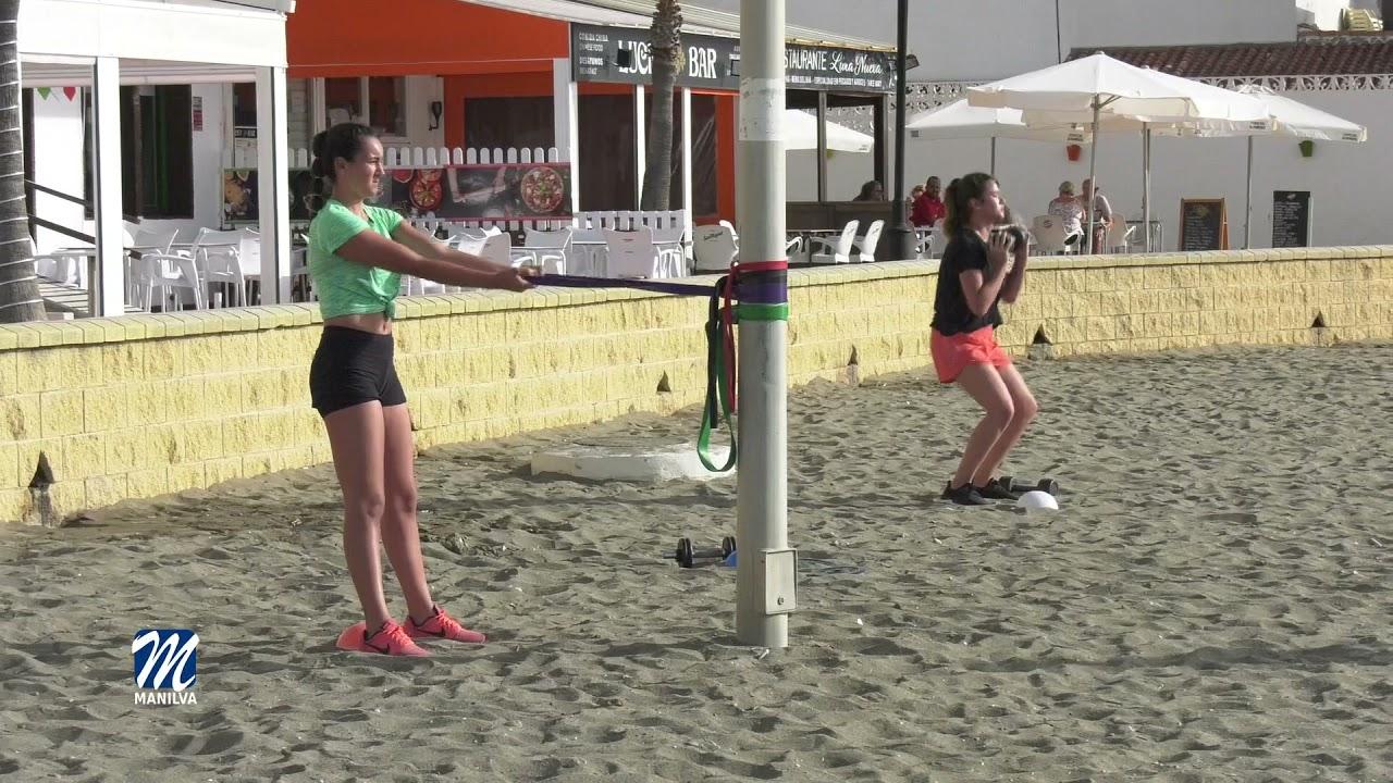 Gran aceptación y participación en el Beach Training
