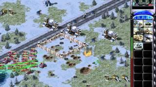 getlinkyoutube.com-Red Alert 2 - 1 vs 7 Brutal Enemies! The Easy Strategy!