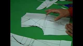 تعليم التفصيل بالباترون للمحترفين الكورساج 13