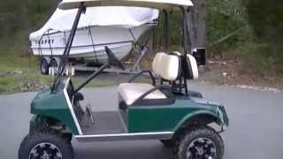 getlinkyoutube.com-Golf Cart Hop Up for speed and torque off road - see description too!