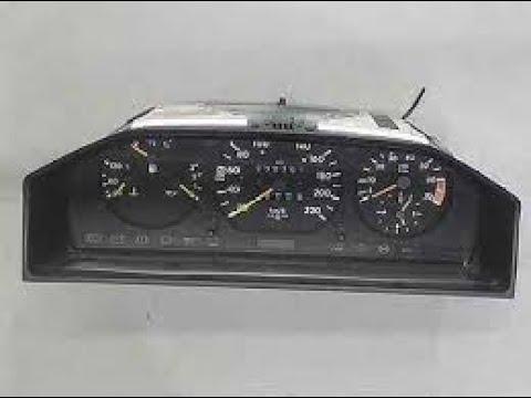 Расположение в Mercedes W124 ручника