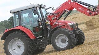getlinkyoutube.com-Massey Ferguson 5600 Traktor im AGRARTECHNIK-Maschinentest